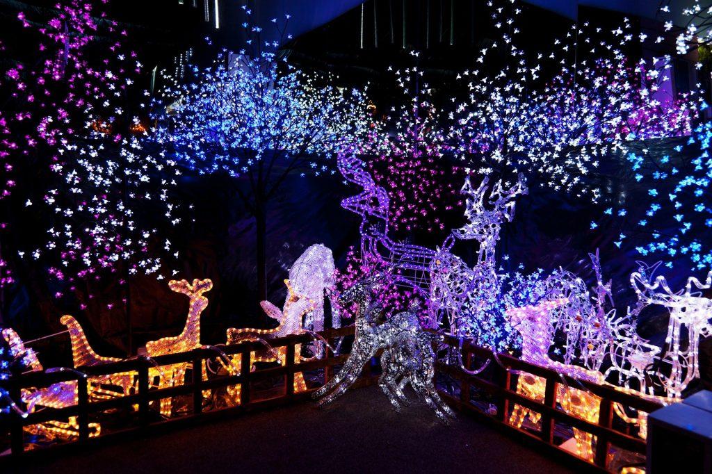instalații luminoase de Crăciun (4)
